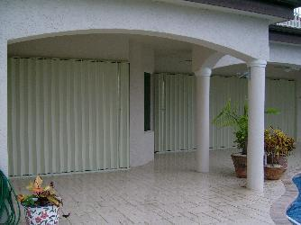 Eurex Accordion Shutters