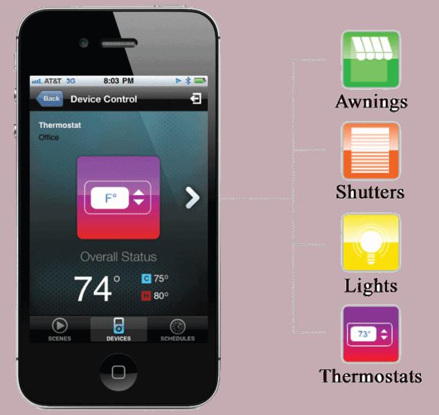 TaHoma System App